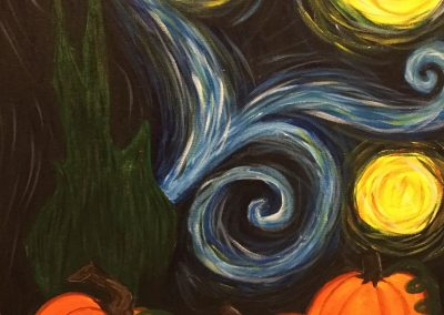 Halloween Starry Night