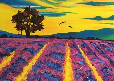 Purple Pasture