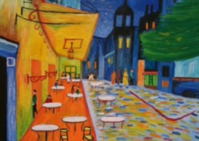 "Van Gogh's ""Cafe Terrace"""